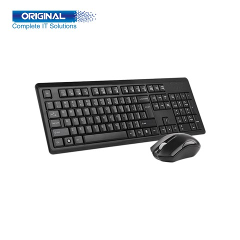 A4 Tech 4200N Wireless Keyboard Mouse Combo with Bangla
