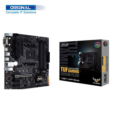 Asus TUF A520M-Plus DDR4 AMD AM4 Micro ATX Gaming Motherboard