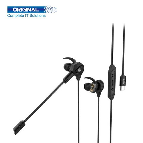 Havit GE06 In-Ear Wired Black Gaming Earphone for Type-C Device