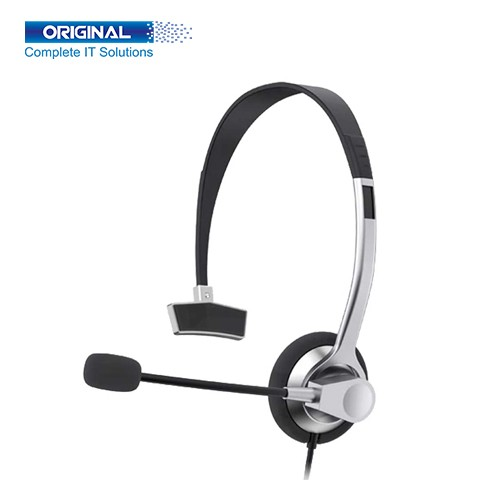 Havit H204d 3.5mm double plug with Mic Headphone for Computer