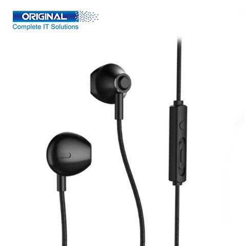 Remax RM-711 Black Wired Earphone