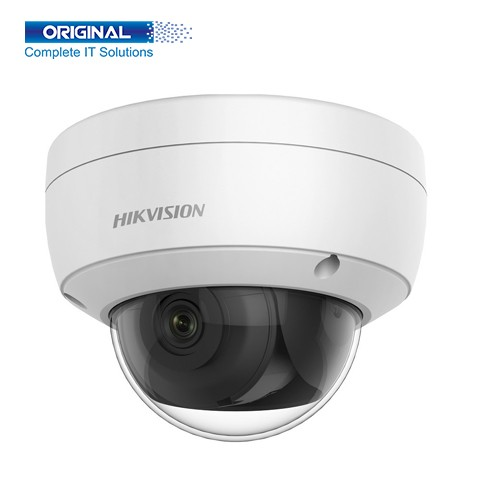 HikVision DS-2CD2143G0-IU 4 MP Built-in Mic Fixed Dome Network Camera.