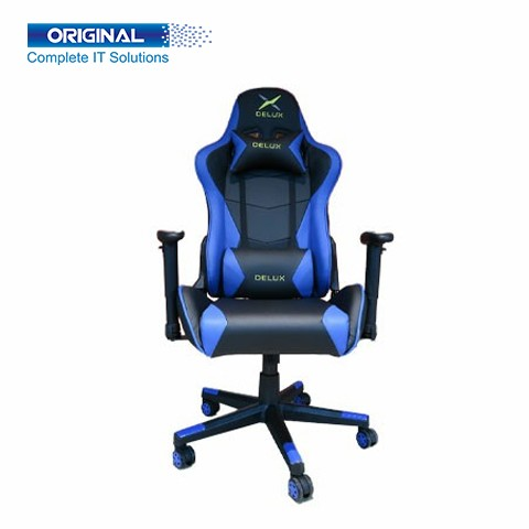 Delux DC-R103 Gaming Chair Black-Blue