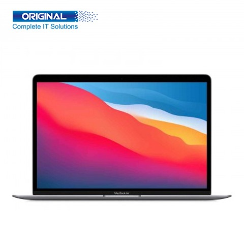 Apple MacBook Air 13.3 Inch Full HD Retina Display 8-Core Apple M1 Chip With 8GB RAM 256GB SSD Laptop (MGN63) Space Gray