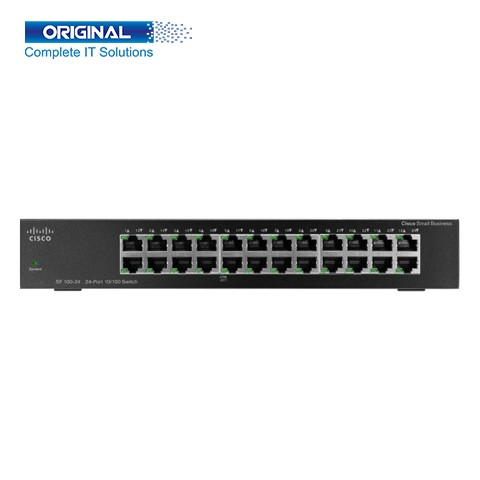 Cisco SF95-24-AS 24-Port 10/100 Unmanaged Switch