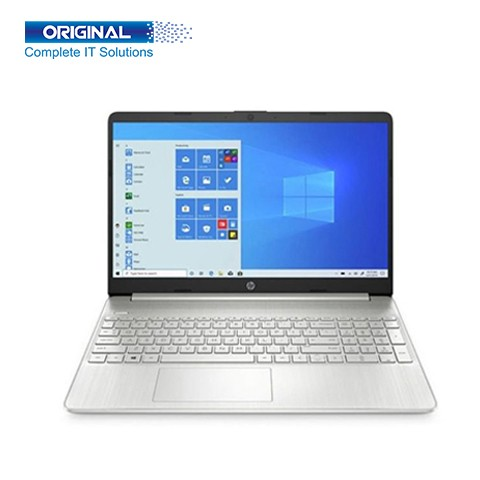 HP 15s-du1081TU Core i3 10th Gen Intel 8GB RAM,512 SSD, 10110U 15.6 Inch FHD Display Silver Laptop