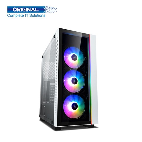 Deepcool MATREXX 55 V3 ADD-RGB WH 3F Mid Tower White (Tempered Glass) ATX Gaming Casing