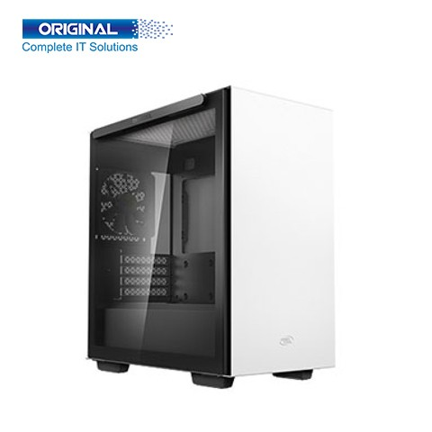Deepcool MACUBE 110 WH Mid-Tower Micro-ATX Casing (White)