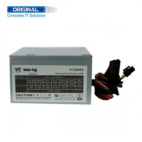 Value-Top VT-S200A Real 200W Power Suplly