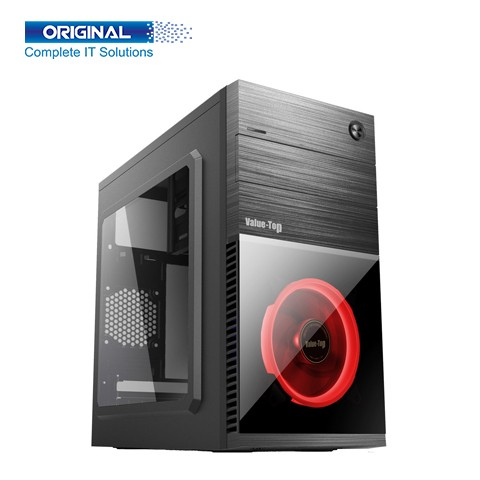 Value-Top VT-R855-R Red LED Micro ATX Casing