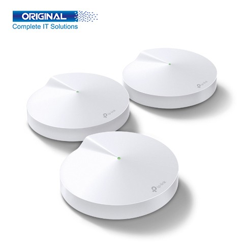 TP-Link Deco M5 AC1300 Mbps Gigabit Dual-Band Wi-Fi Router (3-Pack)