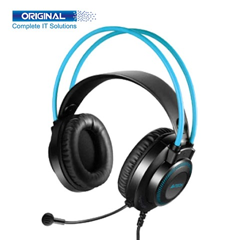 A4Tech Fstyler FH200i Stereo Surround Sound Blue Headphone